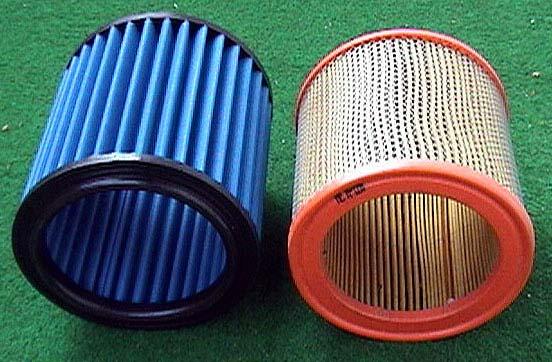 New JR Sport Filter vs original