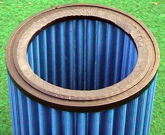 Sport filter with flange removed