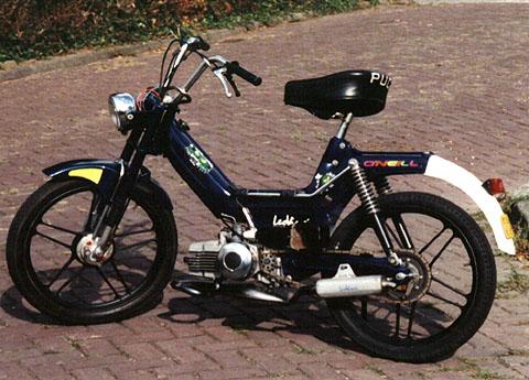 Beffys black bike